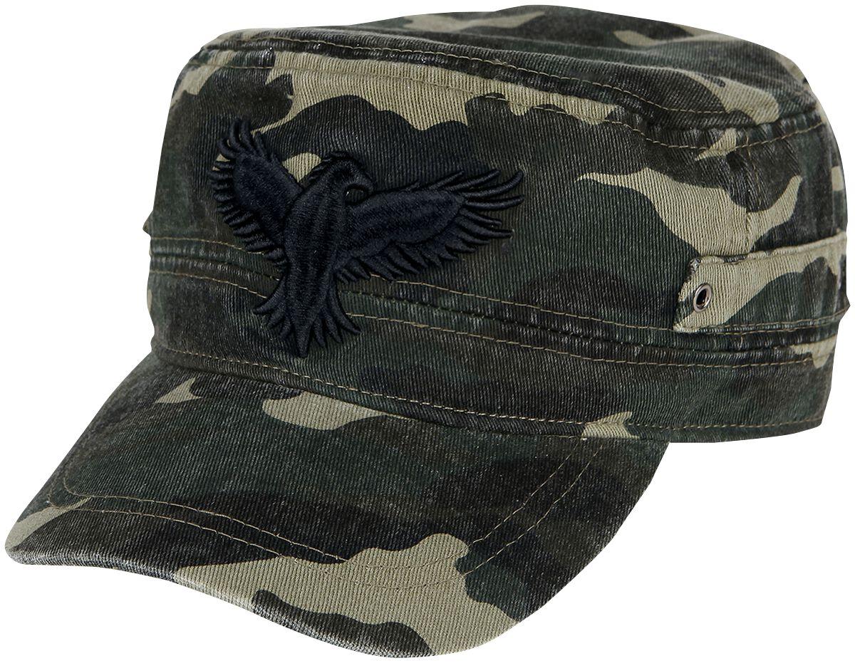 Image of Black Premium by EMP Army Vintage Cap Army-Cap camouflage