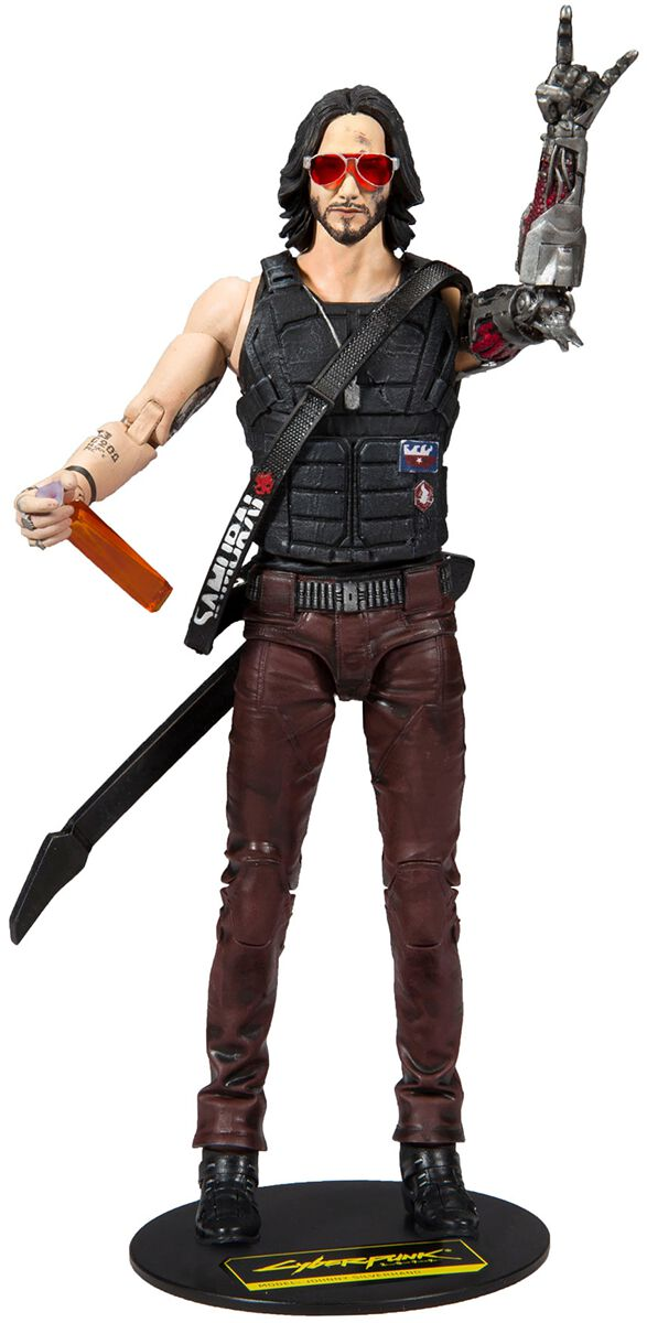 Cyberpunk 2077  Johnny Actionfigur  Actionfigur  Standard