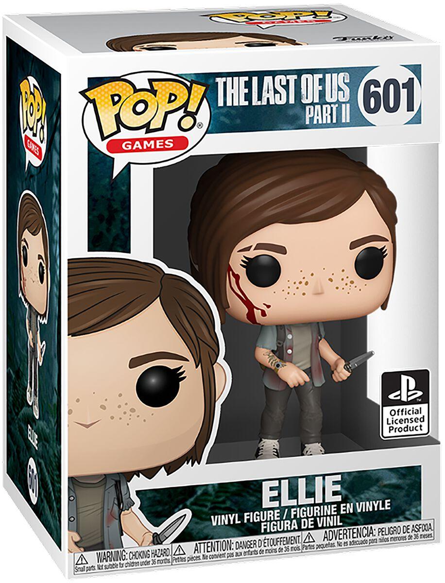 The Last Of Us Ellie Vinyl Figur 601 Funko Pop! multicolor 49461