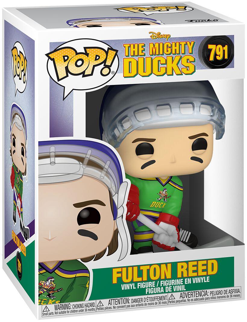 The Mighty Ducks Fulton Reed Vinyl Figur 791  Funko Pop!  Standard