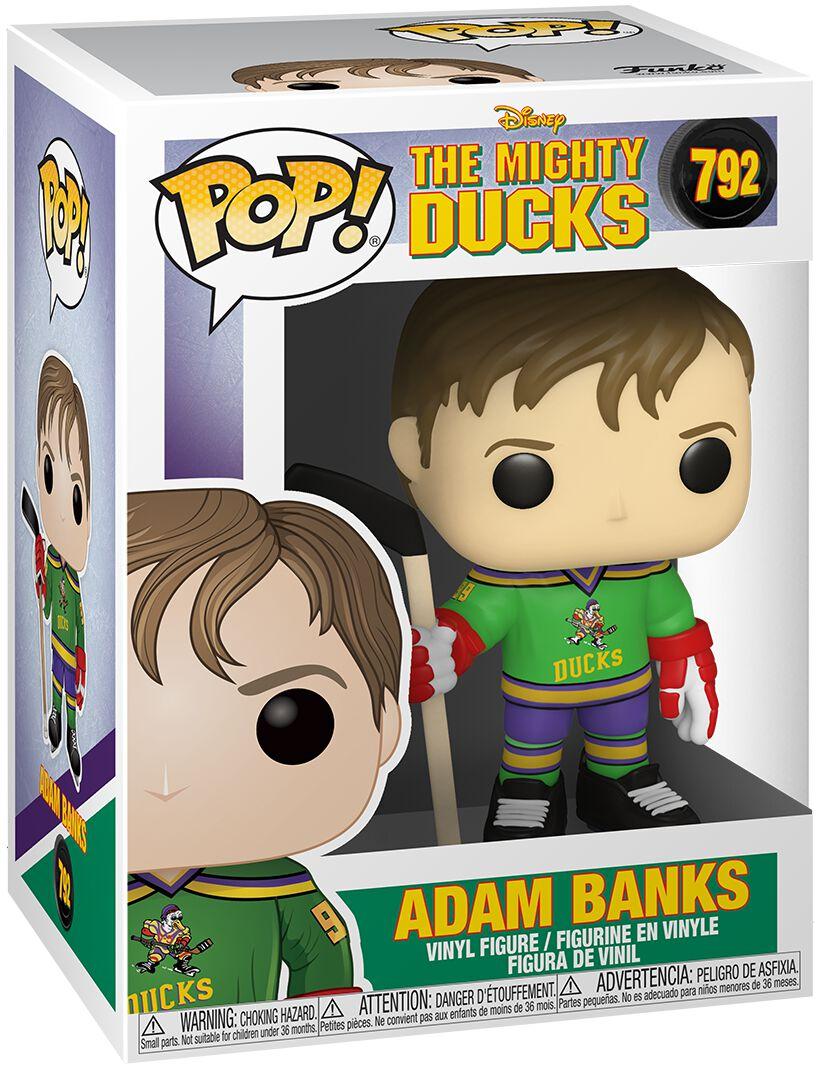 The Mighty Ducks Adam Banks Vinyl Figur 792  Funko Pop!  Standard