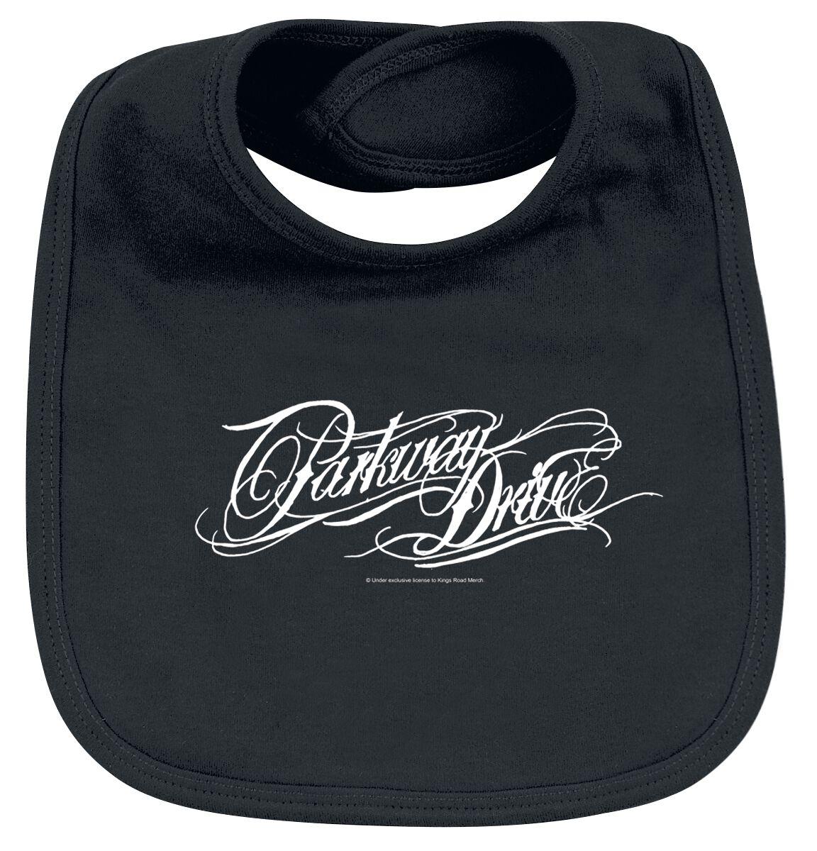 Image of Parkway Drive Logo Baby Lätzchen schwarz
