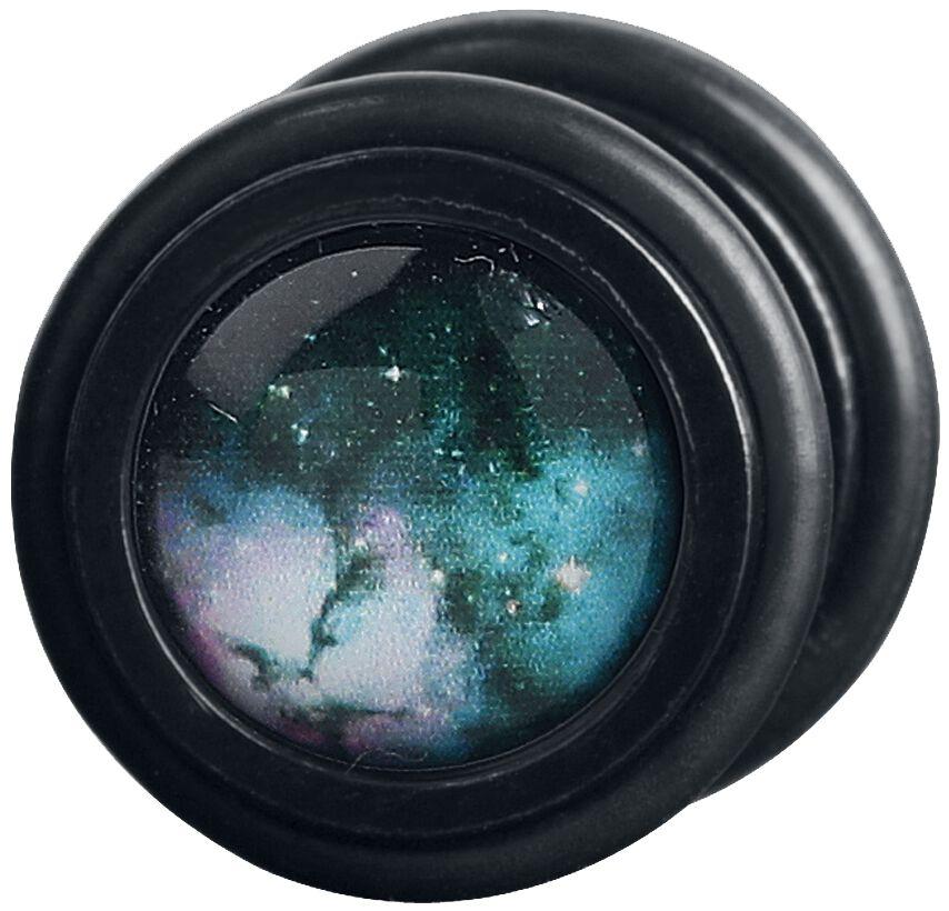Image of Wildcat Green Galaxy Fake Plug Set multicolor