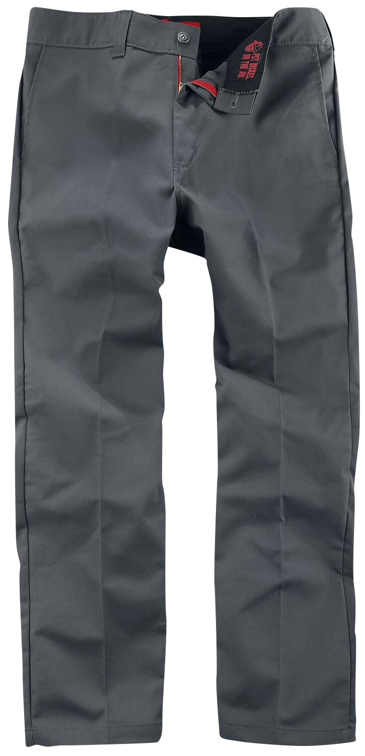 Image of Dickies Industrial Work Pant Chinopant charcoal