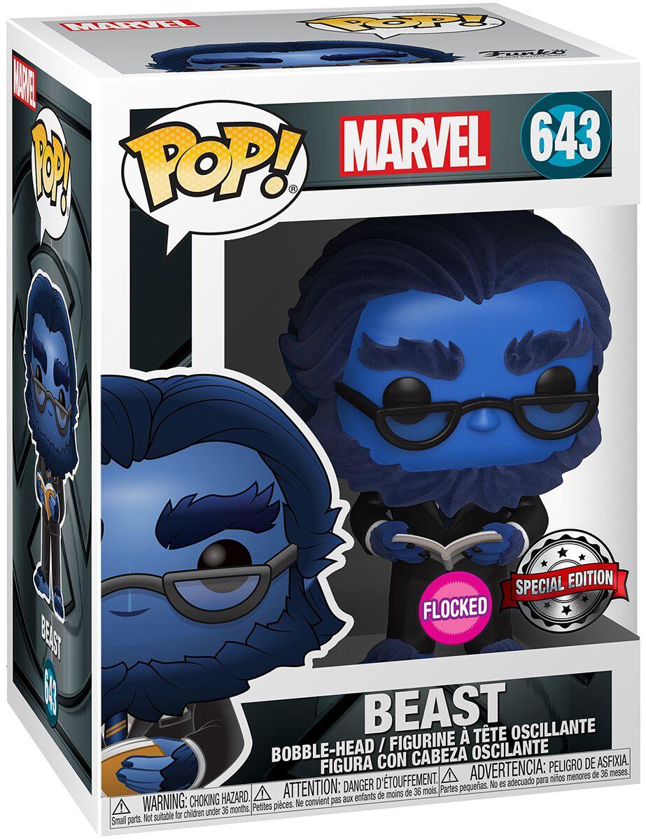X-Men Beast (Flocked) Vinyl Figur 643 powered by EMP