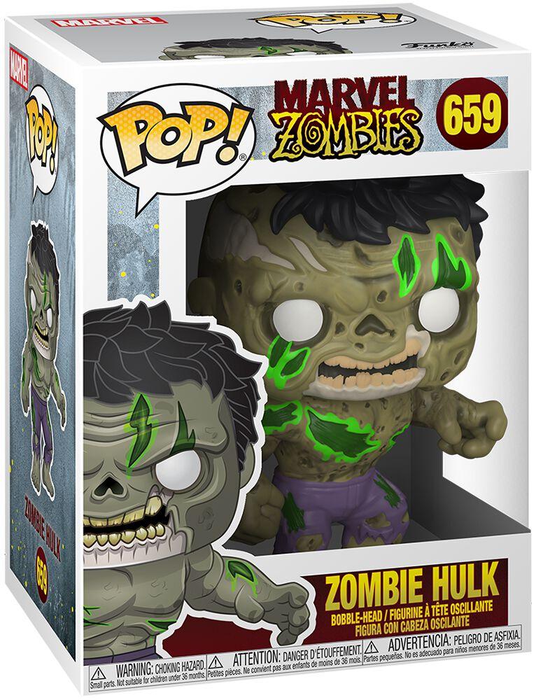 Marvel Zombies - Zombie Hulk Vinyl Figur 659 Funko Pop! multicolor 49121