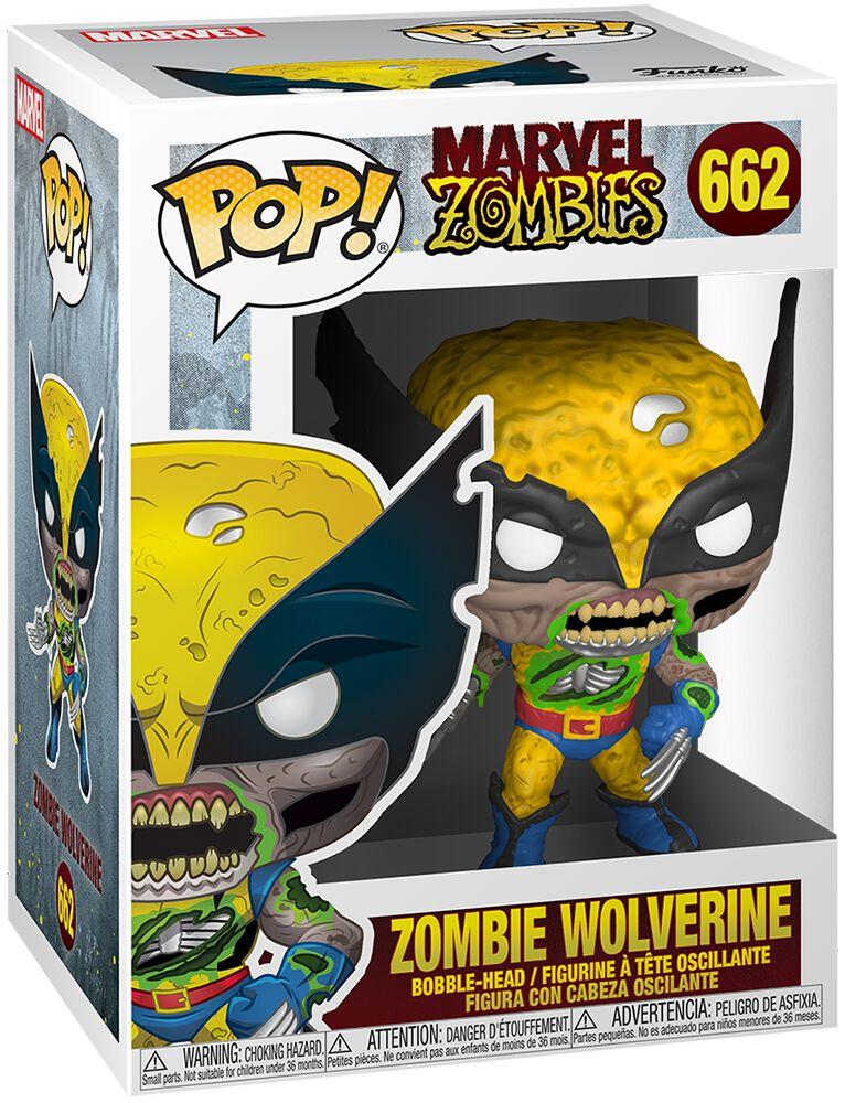 Marvel Zombies - Zombie Wolverine Vinyl Figur 662 Funko Pop! multicolor 49123