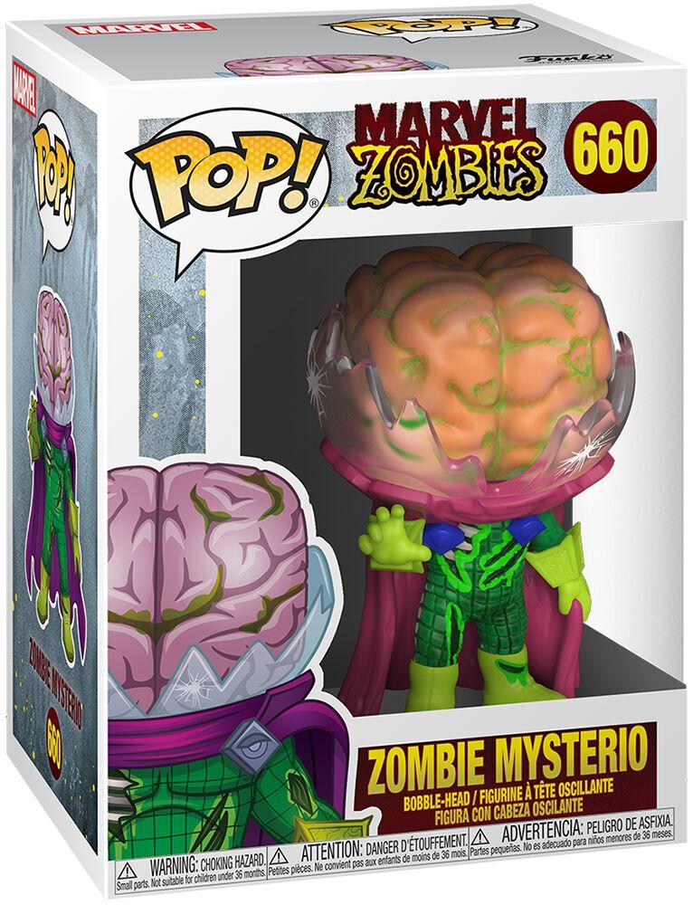 Marvel Zombies - Zombie Mysterio Vinyl Figur 660 Funko Pop! multicolor 49124