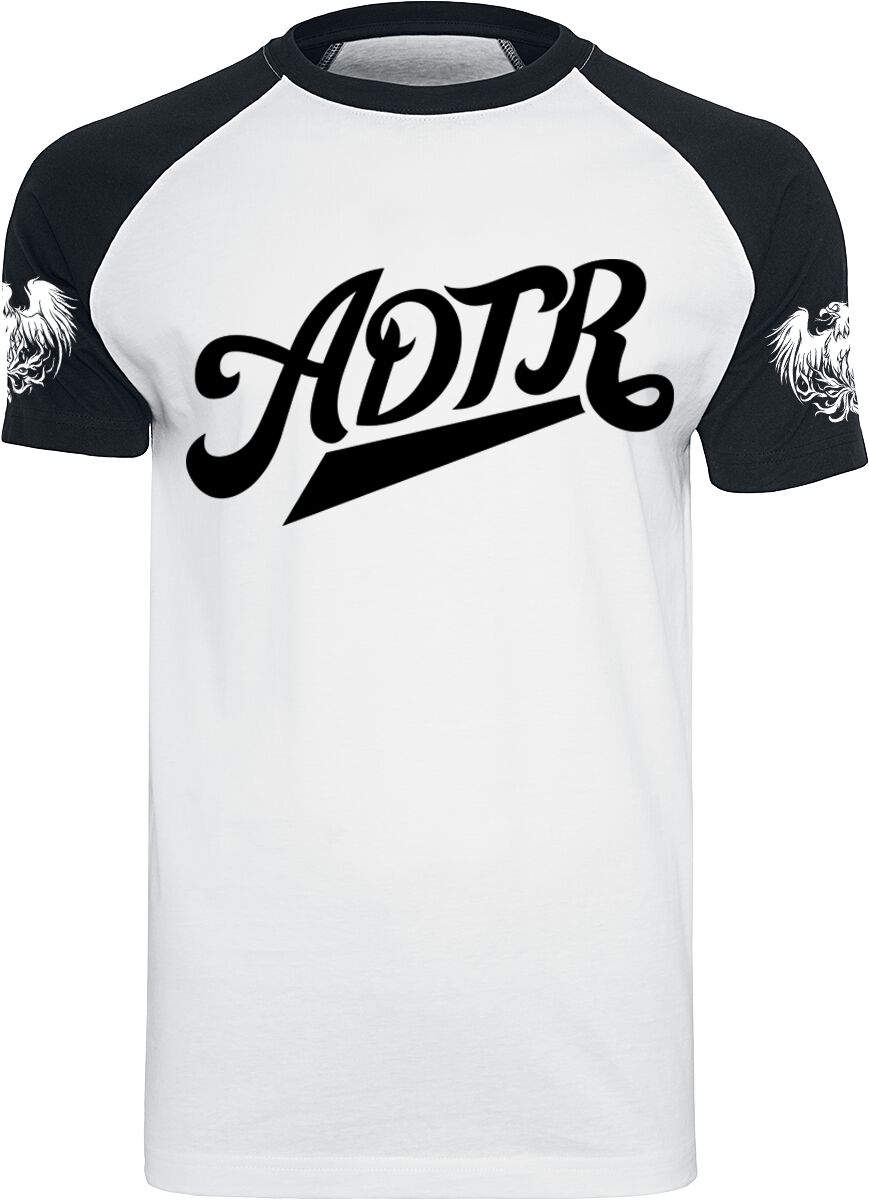 Image of A Day To Remember ADTR T-Shirt weiß/schwarz