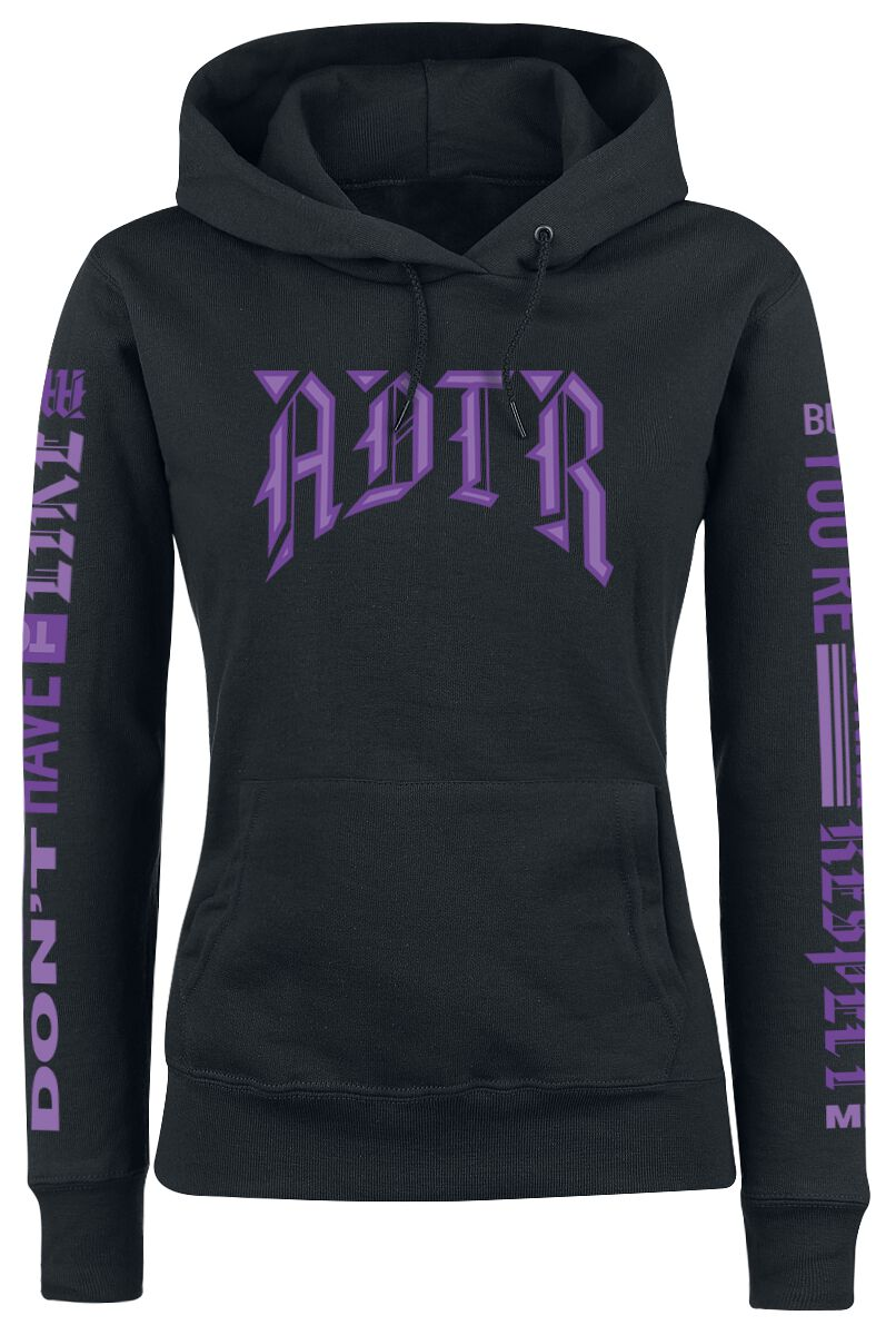 Image of A Day To Remember ADTR Girl-Kapuzenpulli schwarz