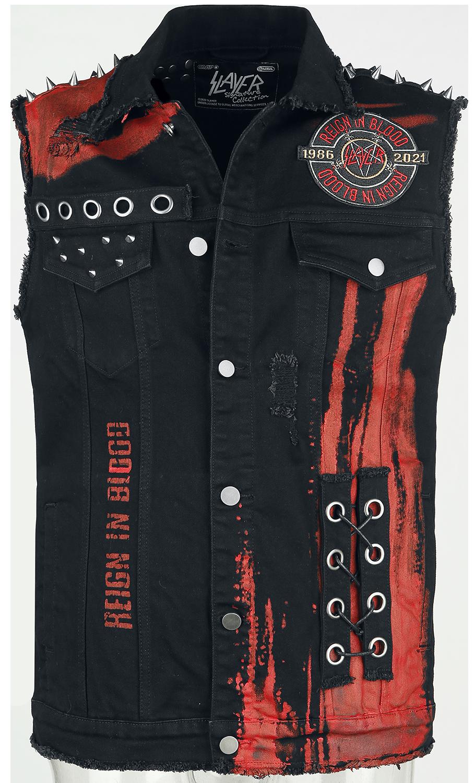 Slayer - EMP Signature Collection - Weste - schwarz  rot - EMP Exklusiv!