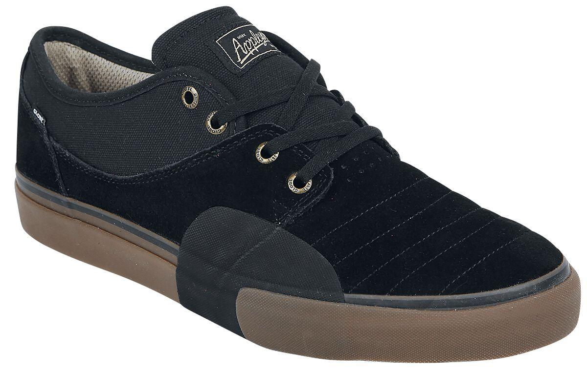 Globe Men's Mahalo Plus Shoes | Black Wrap| UK 11