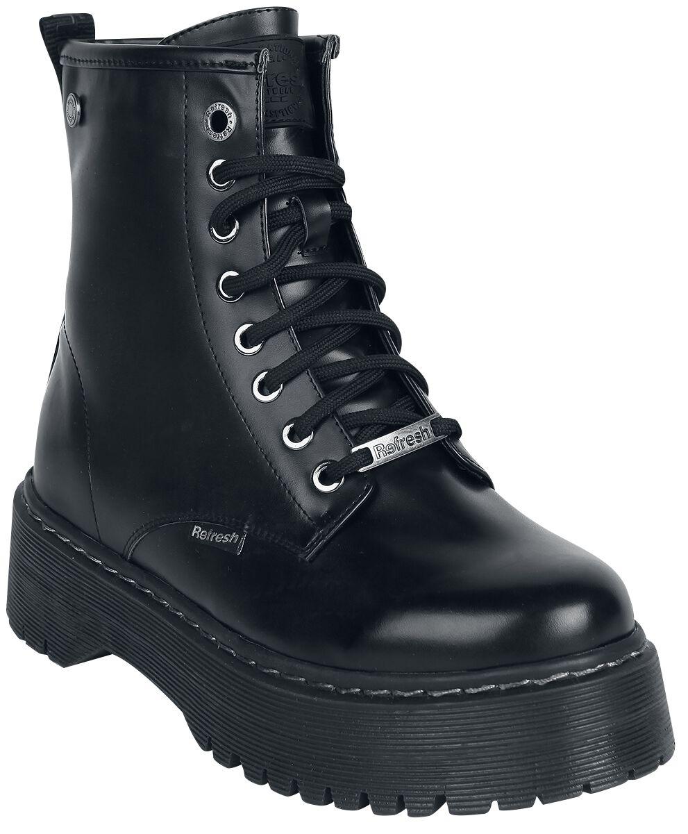 Refresh Mat Boots Stiefel schwarz 072541 PU Black