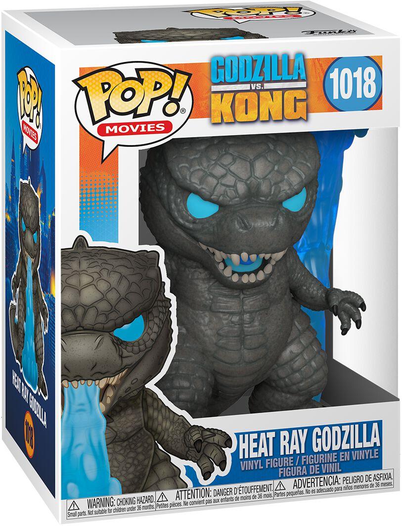 Godzilla vs. Kong Heat Ray Godzilla Vinyl Figur 1018 Funko Pop! multicolor 50955