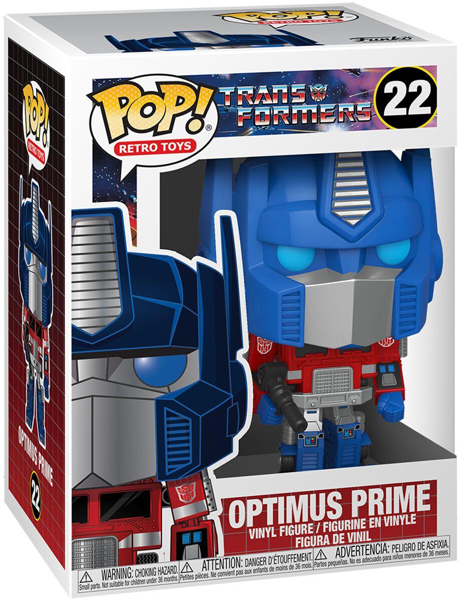 Transformers Optimus Prime Vinyl Figur 22 powered by EMP