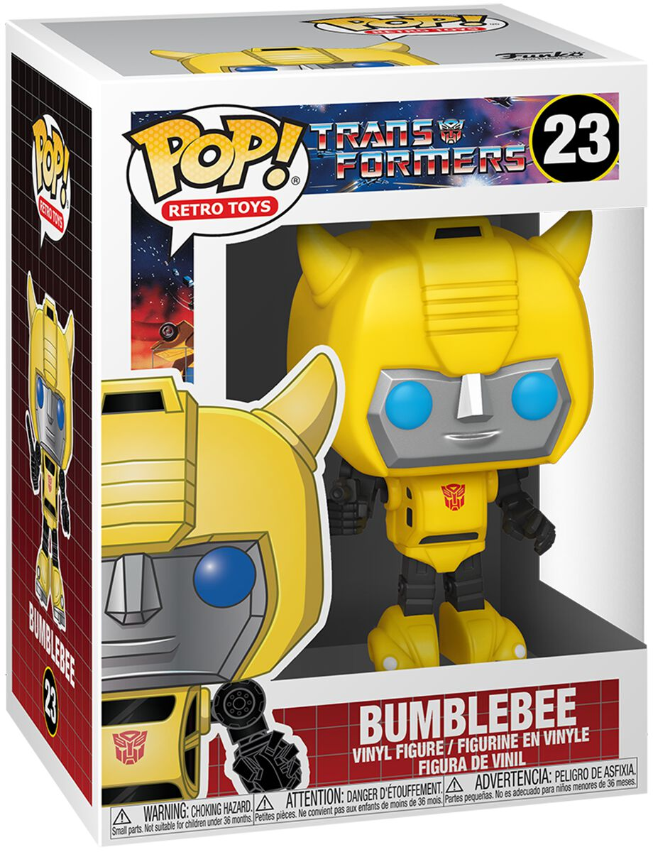 Transformers Bumblebee Vinyl Figur 23 powered by EMP