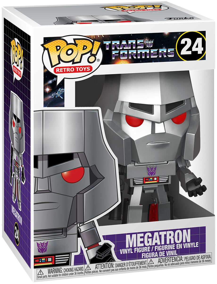 Transformers Megatron Vinyl Figur 24 powered by EMP