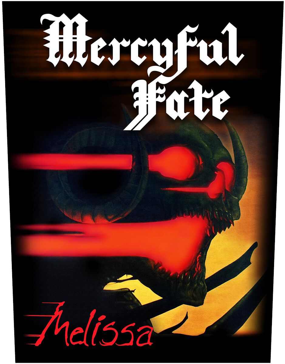 Image of Mercyful Fate Melissa Backpatch multicolor
