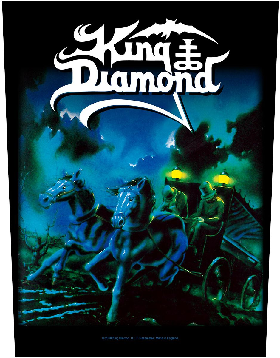 Image of King Diamond Abigail Backpatch multicolor
