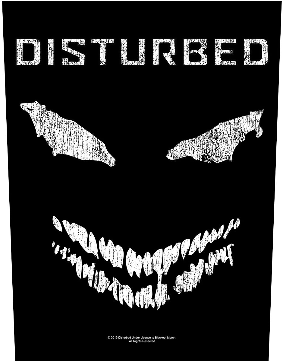 Image of Disturbed Face Backpatch multicolor