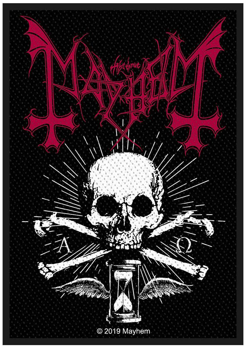 Mayhem  Alpha Omega Daemon  Patch  multicolor