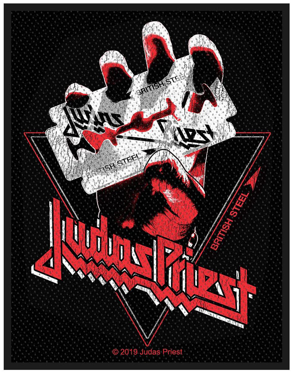 Judas Priest  British Steel Vintage  Patch  multicolor