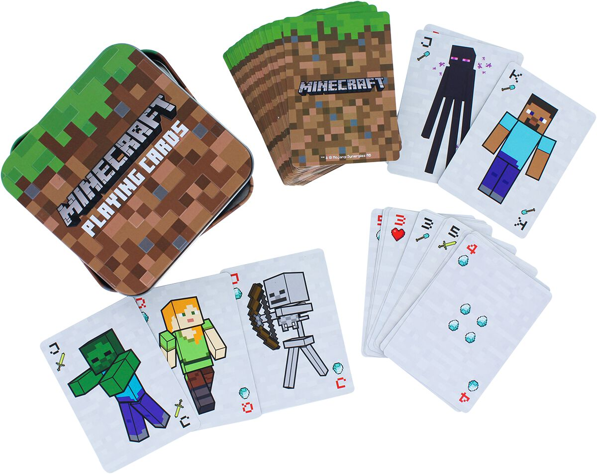 Minecraft Kartenspiel Kartenspiel multicolor PP6587MCF