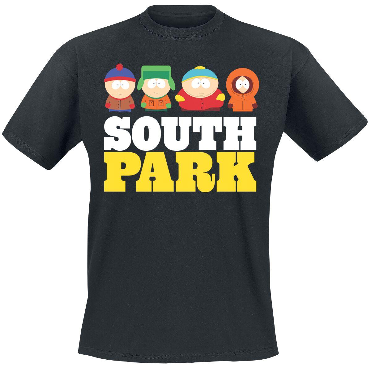South Park South Park T-Shirt schwarz MTV-1- SP 001-H90- 10-BK-S Fruit Black