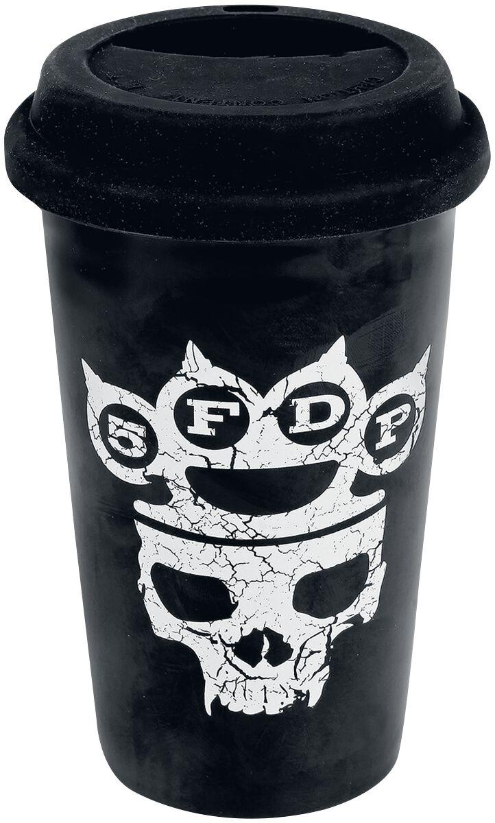 Five Finger Death Punch Control With My Knuckles Tasse schwarz TMUG5F02