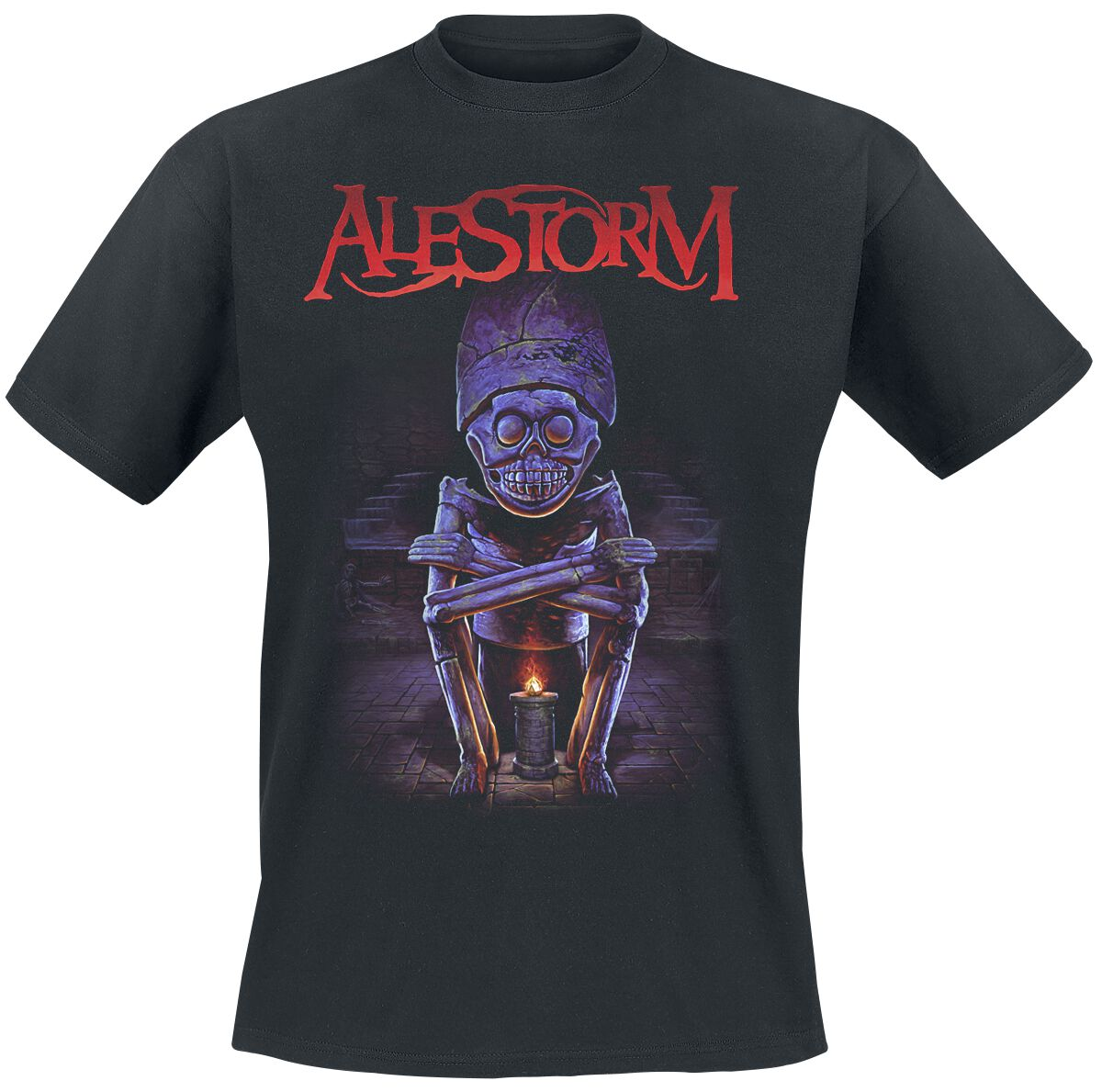 Image of Alestorm Big Ship, Little Ship T-Shirt schwarz