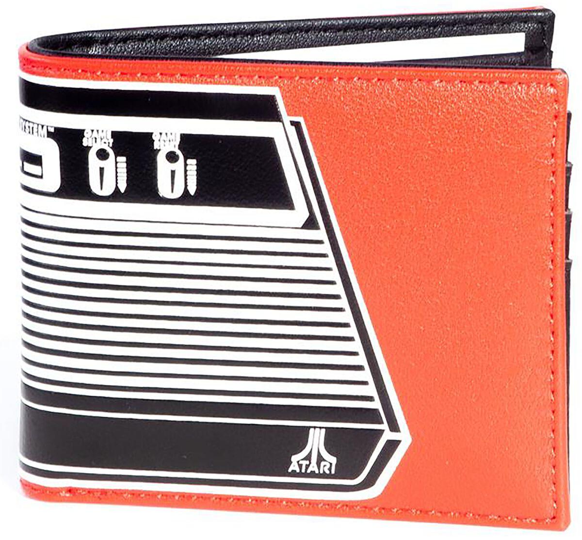 Image of Atari Console Geldbörse orange