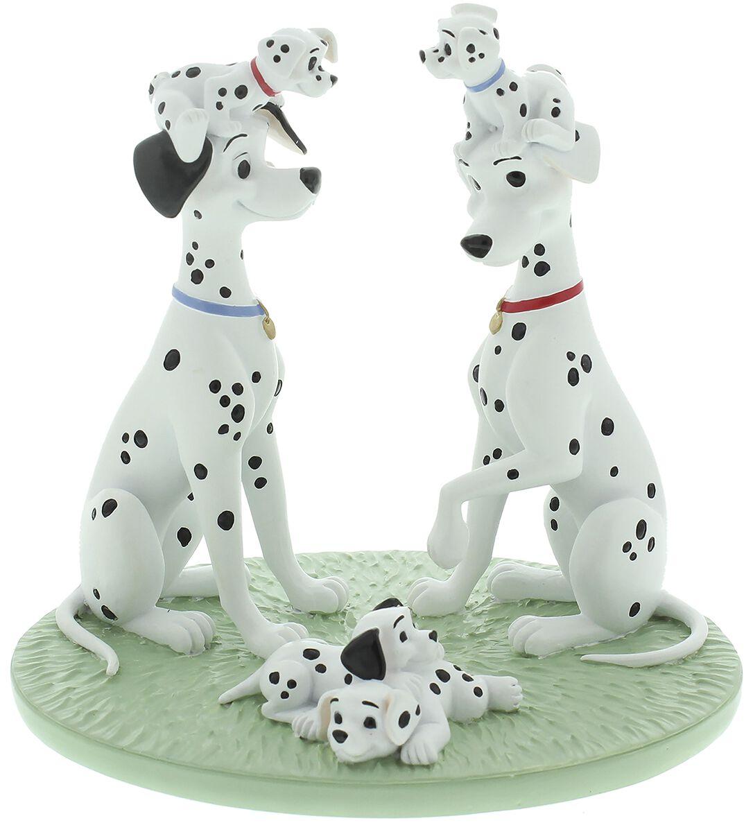 Image of 101 Dalmatiner Dalmatiner Familie Statue Standard