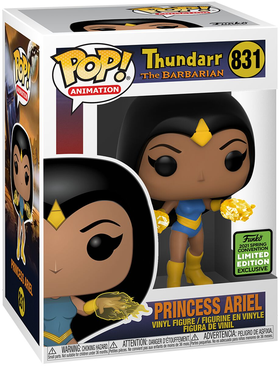 Hanna Barbera ECCC 2021 - Princess Arielle (Funko Shop Europe) Vinyl Figur 831 Funko Pop! multicolor 48406