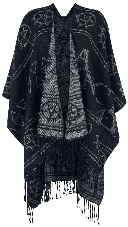 Image of Arch Enemy EMP Signature Collection Girl-Cardigan schwarz/grau