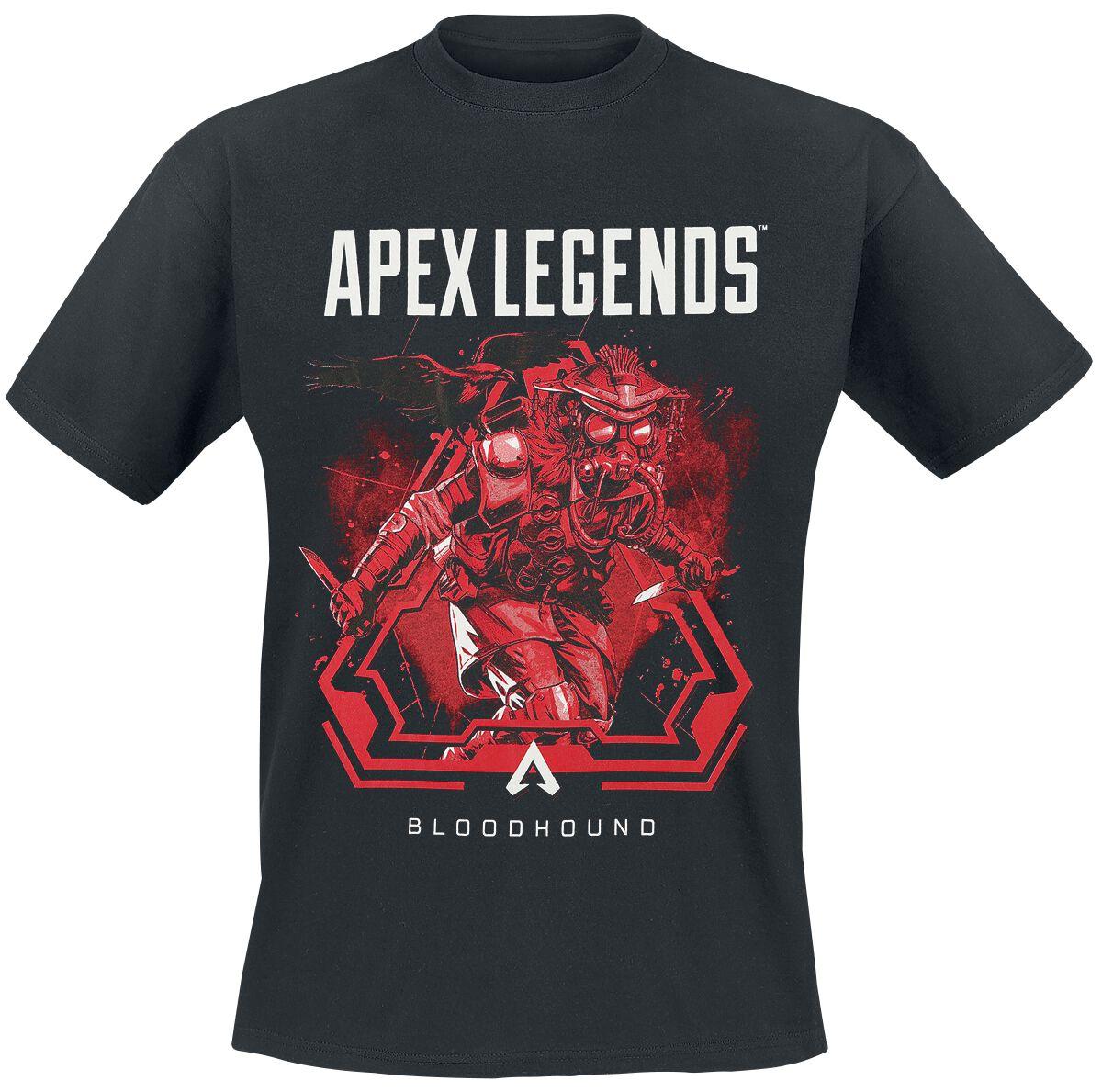 Image of Apex Legends Bloodhound T-Shirt schwarz