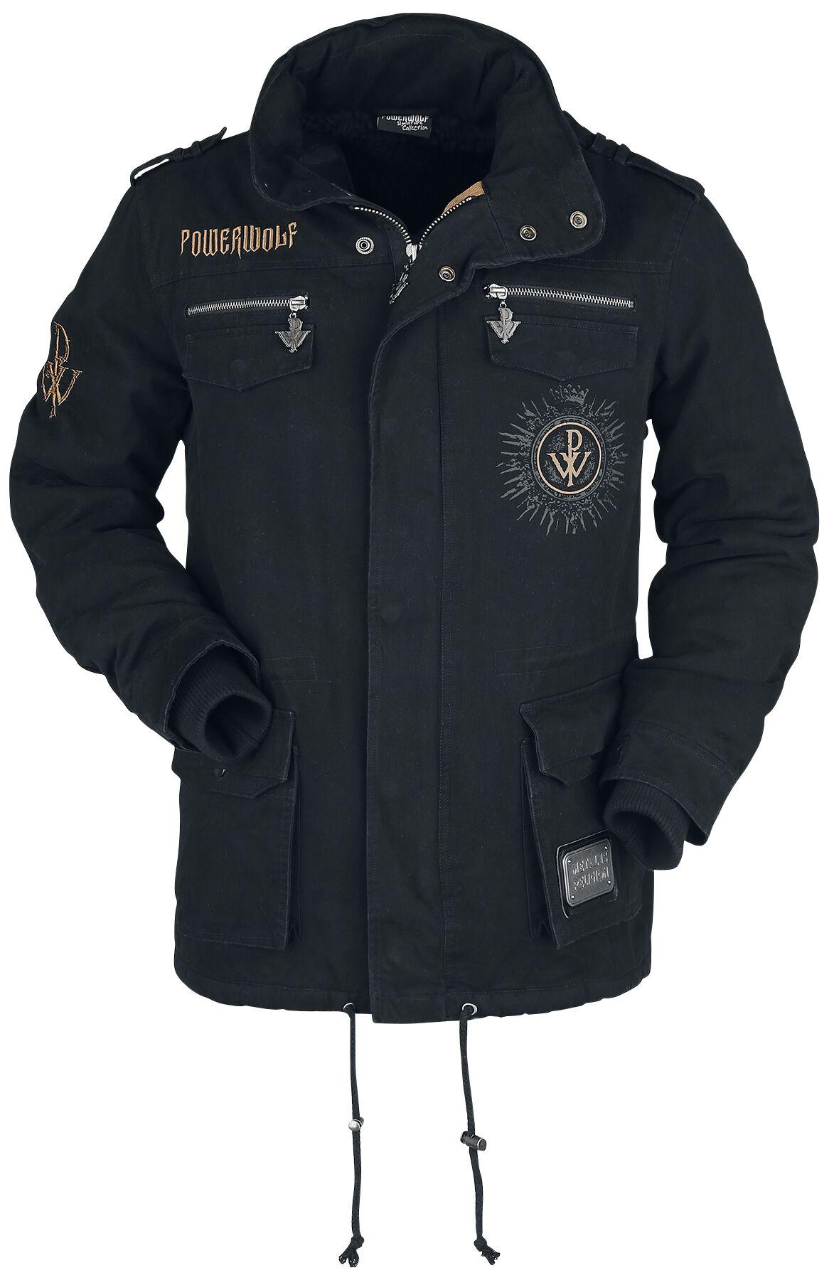 Powerwolf EMP Signature Collection Winter Jacket black