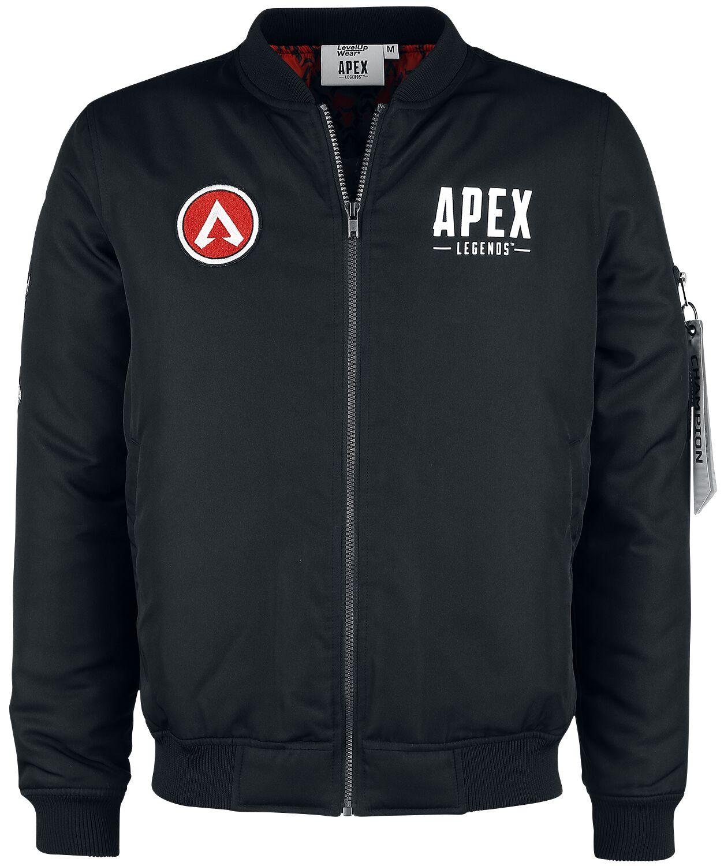 Image of Apex Legends Champion Jacke schwarz
