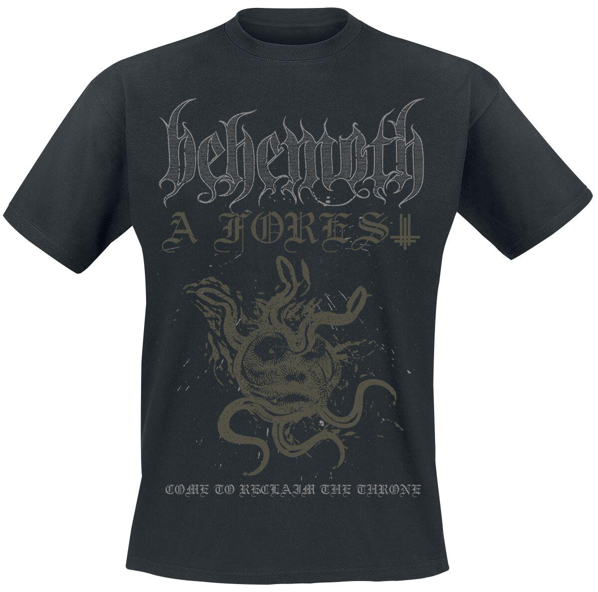 Image of Behemoth A Forest T-Shirt schwarz