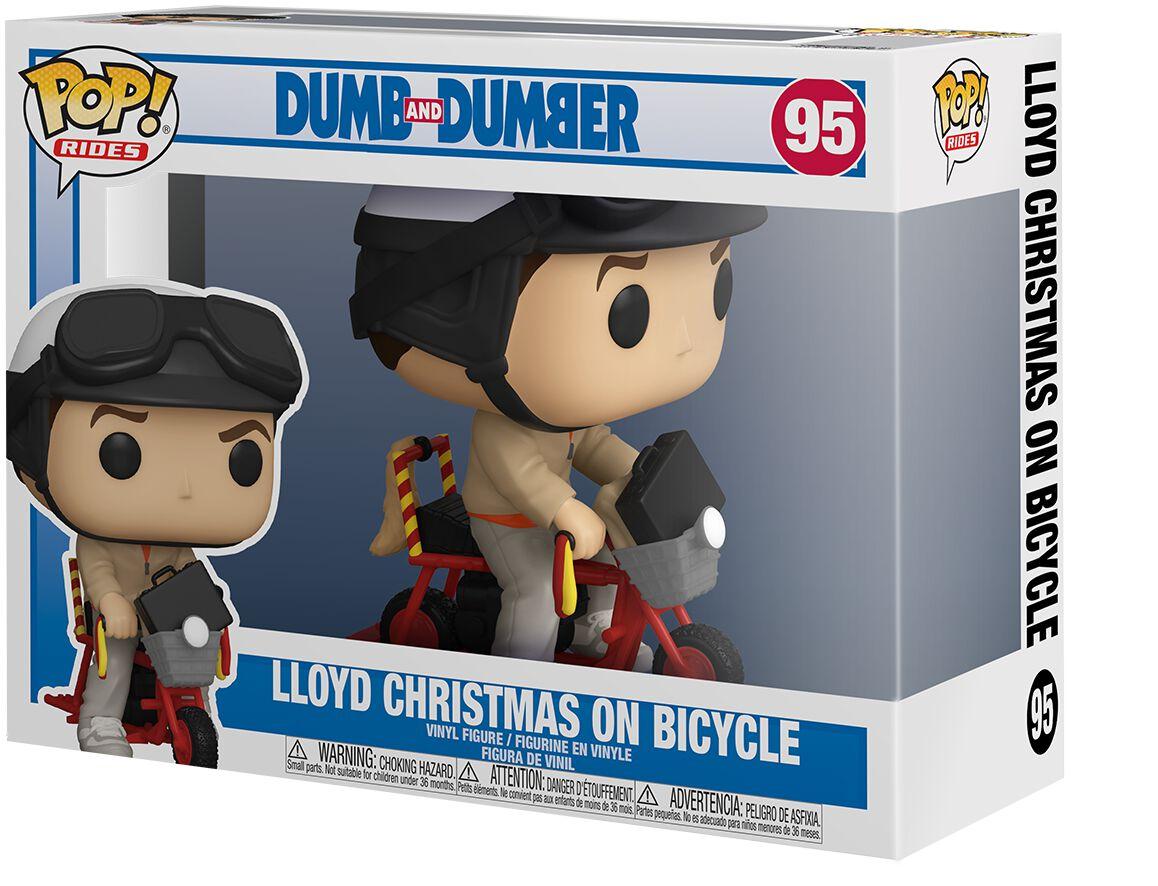 Dumm und Dümmer Lloyd Christmas On Bycicle (Pop! Rides) Vinyl Figur 95 Funko Pop! powered by EMP