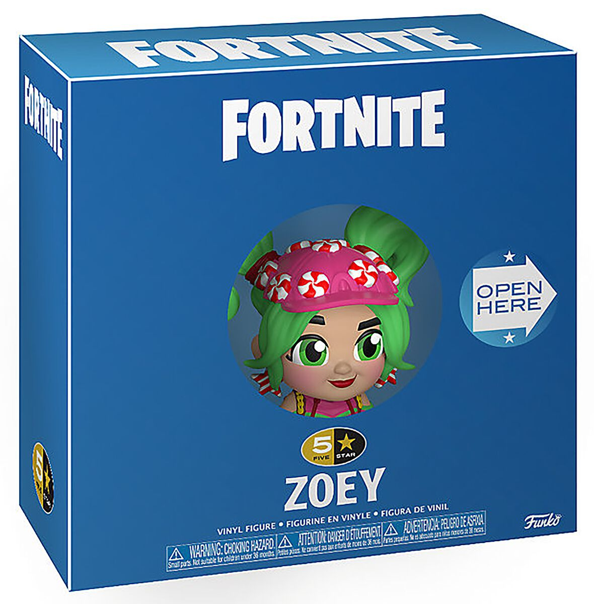 Fortnite Zoey - 5 Star Figur Funko 5 Star multicolor