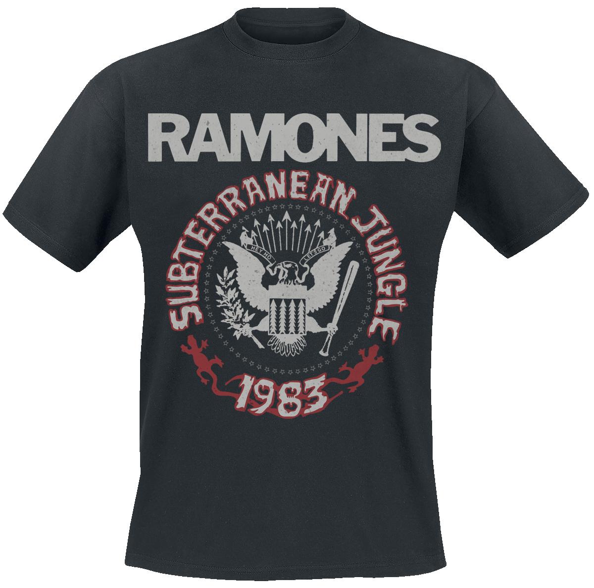 Ramones - Subterranean Jungle - T-Shirt - schwarz