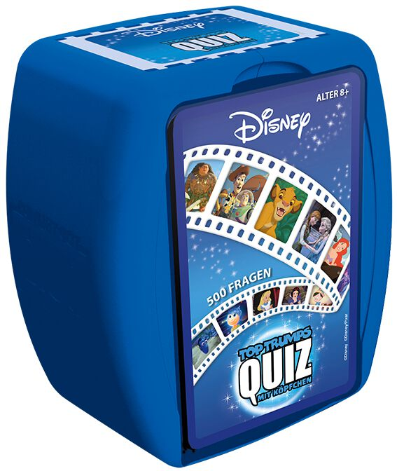 Image of Disney Top Trumps Quiz Brettspiel Standard