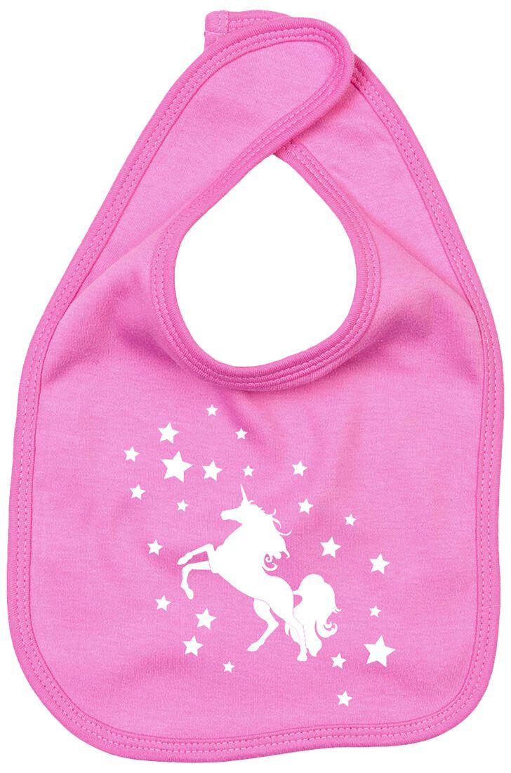 Image of Einhorn Star Unicorn Baby Lätzchen rosa