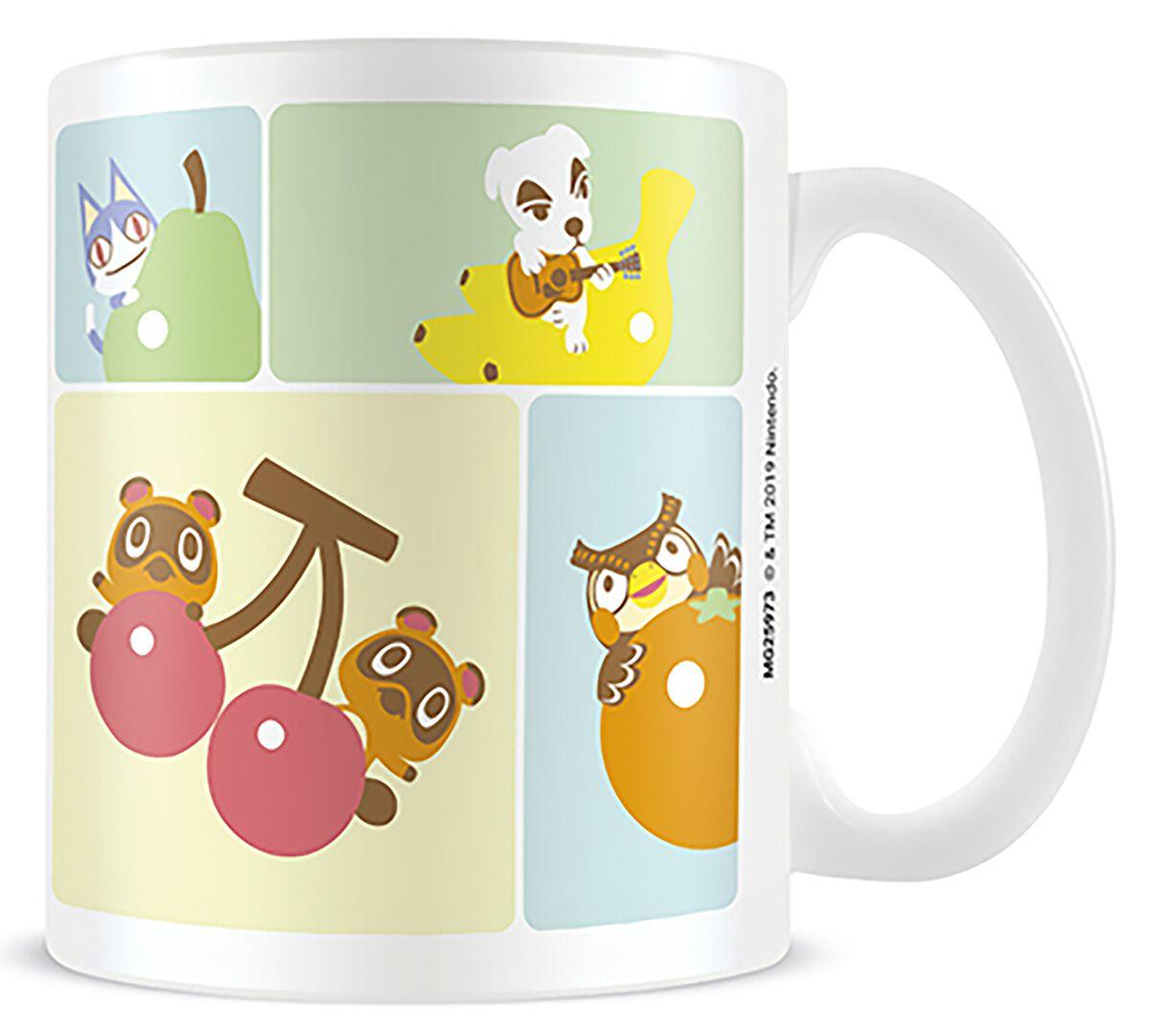Image of Animal Crossing Characters Tasse weiß