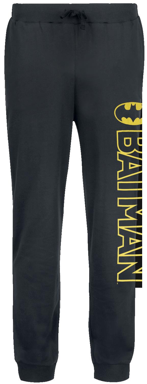 Batman - Classic Logo - Pyjama-Hose - schwarz - EMP Exklusiv!