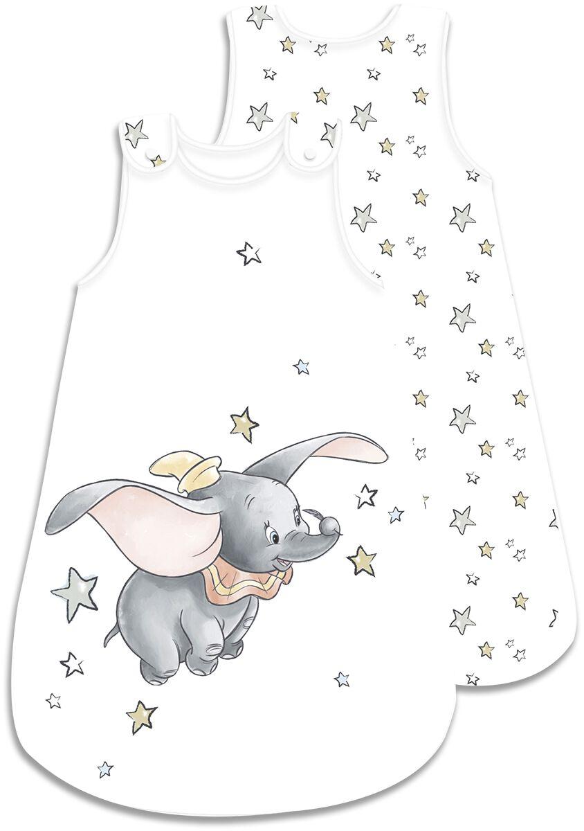 Dumbo Dumbo Baby Schlafsack (90 x 45 cm) Baby-Schlafsäcke weiß grau