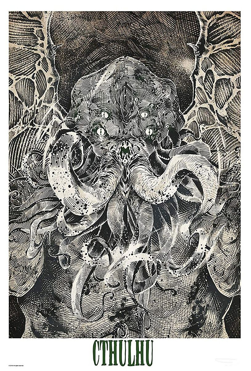Cthulhu Cthulhu Poster multicolor ABYDCO548