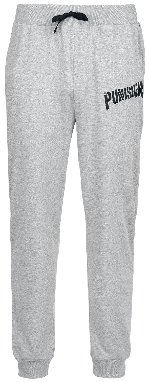 The Punisher - Schriftzug Punisher - Pyjama-Hose - grau meliert - EMP Exklusiv!