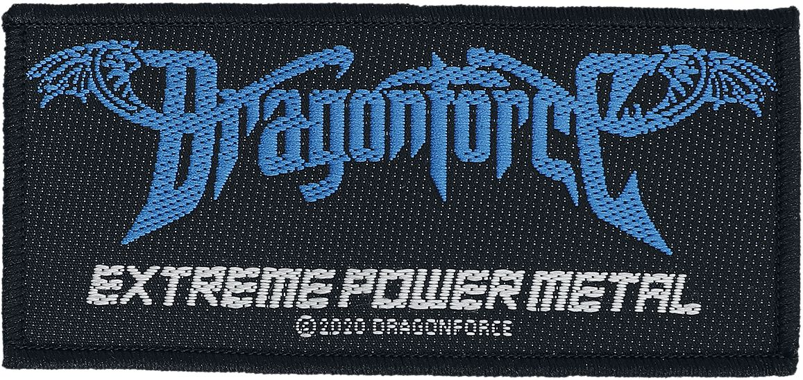Dragonforce  Extreme Power Metal  Patch  multicolor