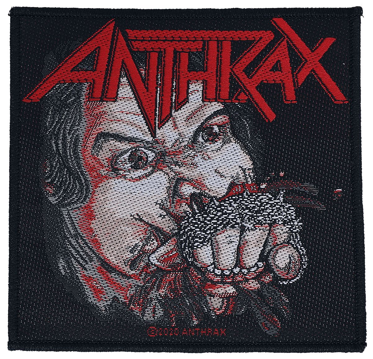 Image of Anthrax Fistful of Metal Patch multicolor